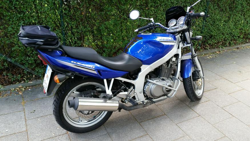 Motorrad Suzuki GS 500, *TIEFERGELEGT* (ab 1,55 m Körpergröße) - Suzuki - Bild 1