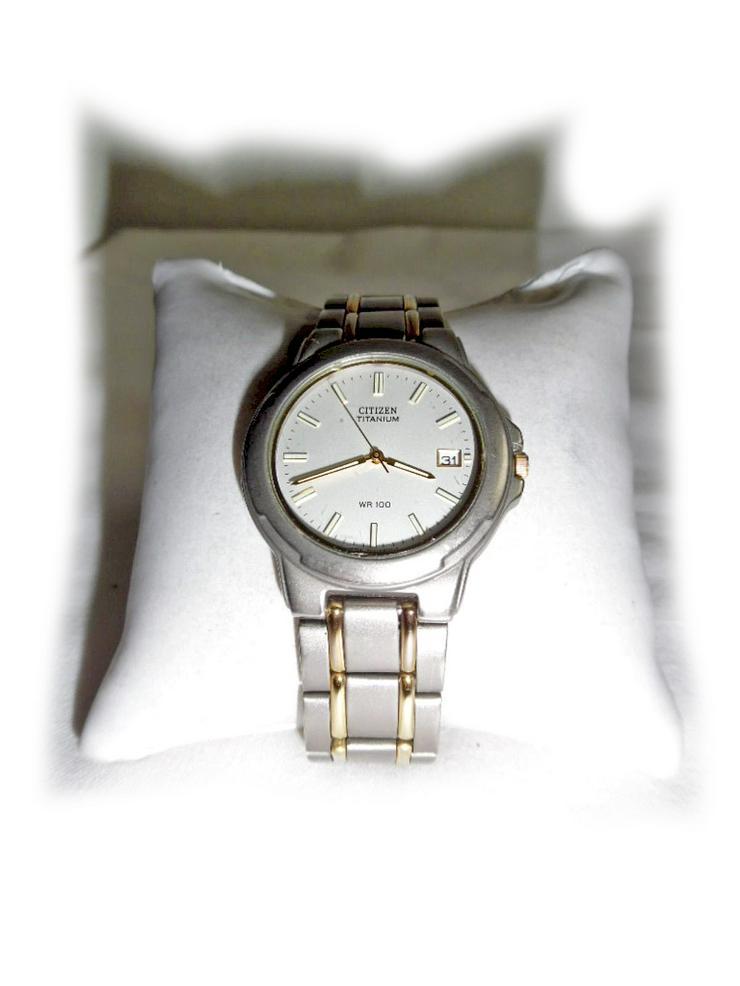 Armbanduhr von Citizen Titanium