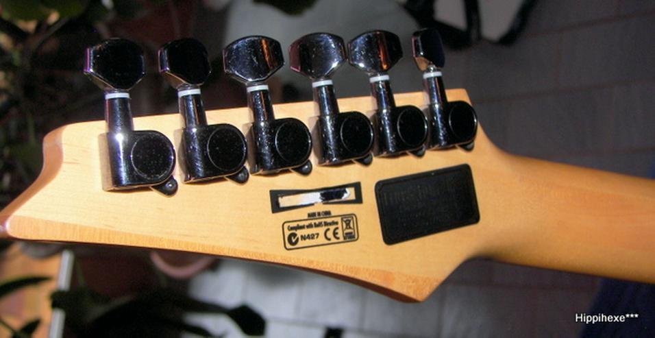 Bild 4: Ibanez SA 120 EX-BK schwarze Powerstrat E-Gitarre