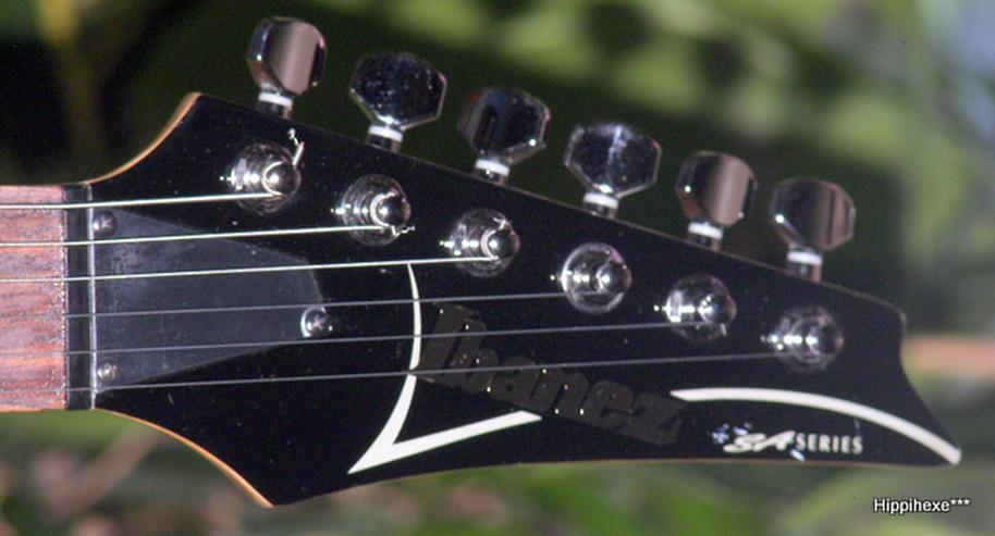 Bild 5: Ibanez SA 120 EX-BK schwarze Powerstrat E-Gitarre