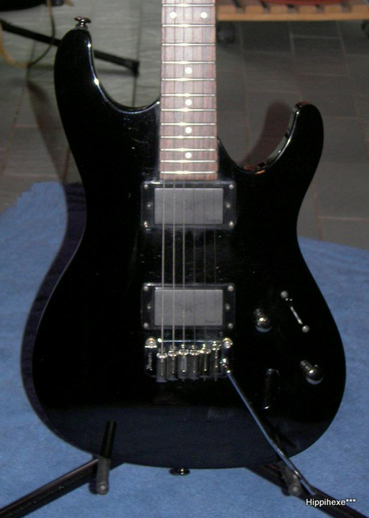 Ibanez SA 120 EX-BK schwarze Powerstrat E-Gitarre - E-Gitarren & Bässe - Bild 1