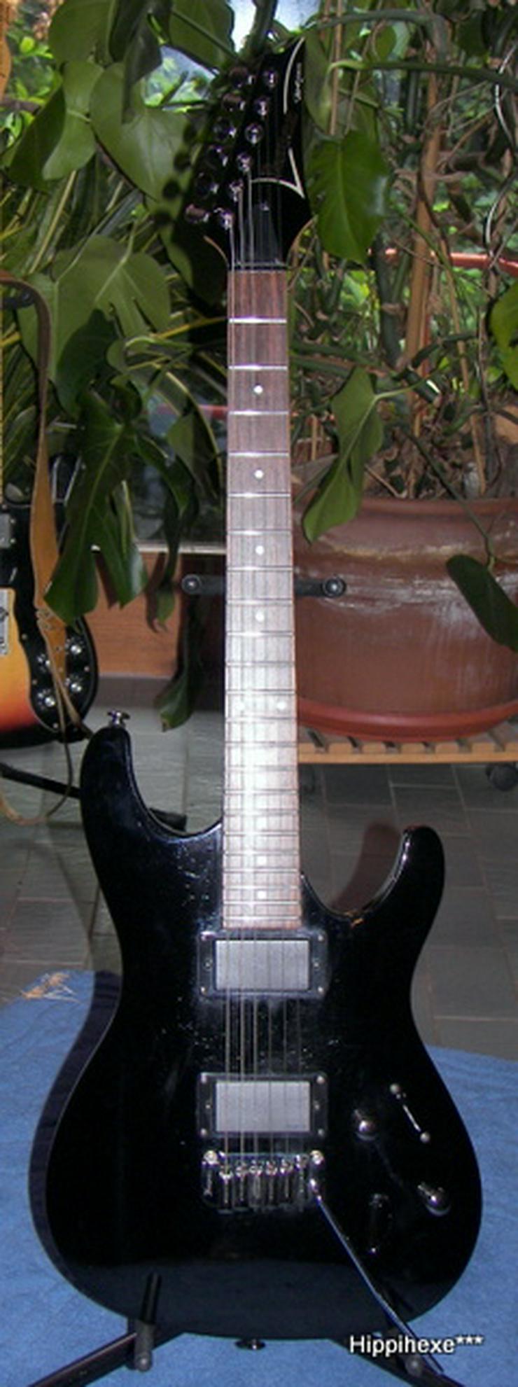 Bild 2: Ibanez SA 120 EX-BK schwarze Powerstrat E-Gitarre