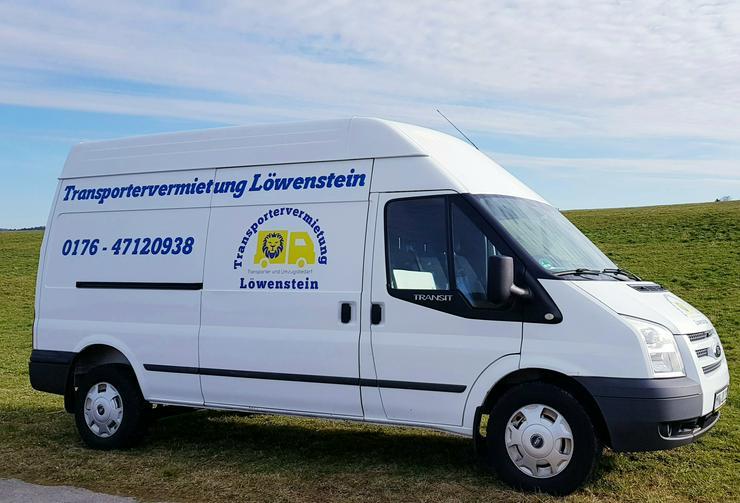 I -Transportervermietung Umzugswagen Sprinter Transporter mieten - Busse, LKW & Kastenwagen - Bild 1