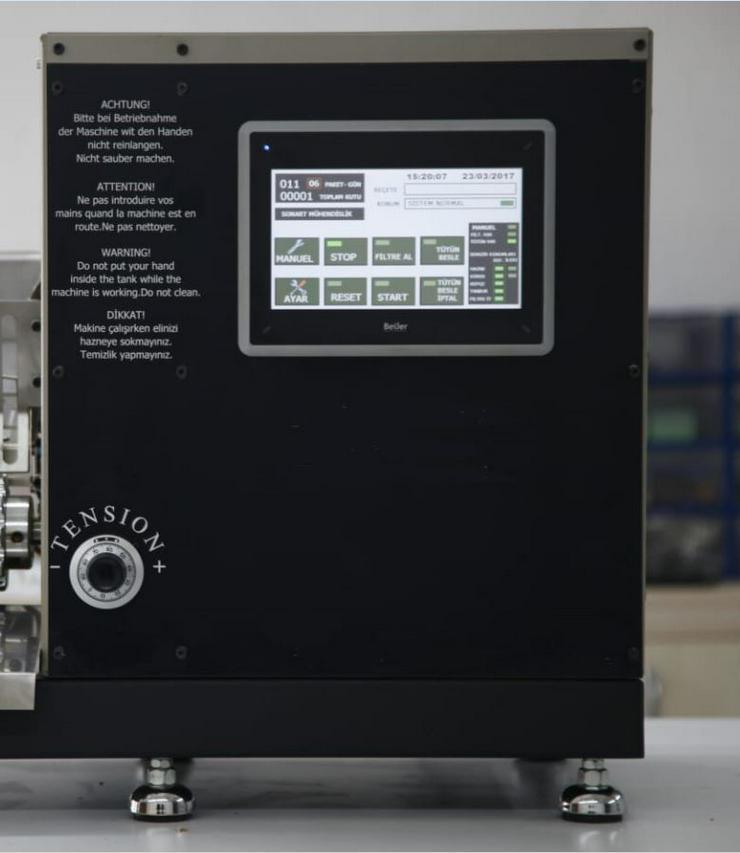 Bild 4: Zigarettenstopfmaschine Top-o-matic