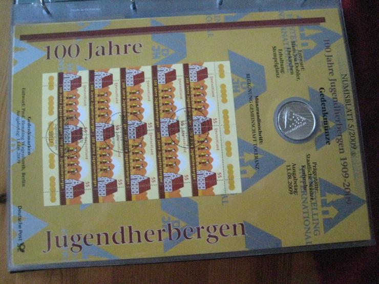 Bild 5: 100 gold Euro 2017 & Gedenkmünzenset 2012 & Dauerbriefmarken 2003