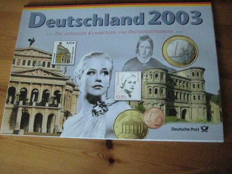 100 gold Euro 2017 & Gedenkmünzenset 2012 & Dauerbriefmarken 2003