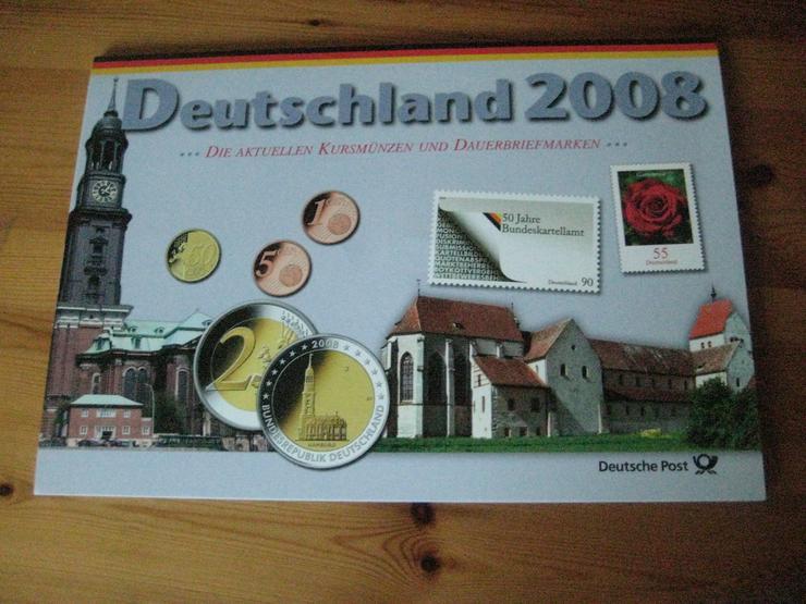 Bild 3: 100 gold Euro 2017 & Gedenkmünzenset 2012 & Dauerbriefmarken 2003