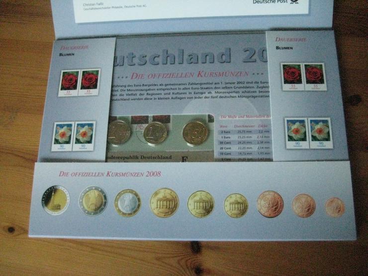 Bild 4: 100 gold Euro 2017 & Gedenkmünzenset 2012 & Dauerbriefmarken 2003