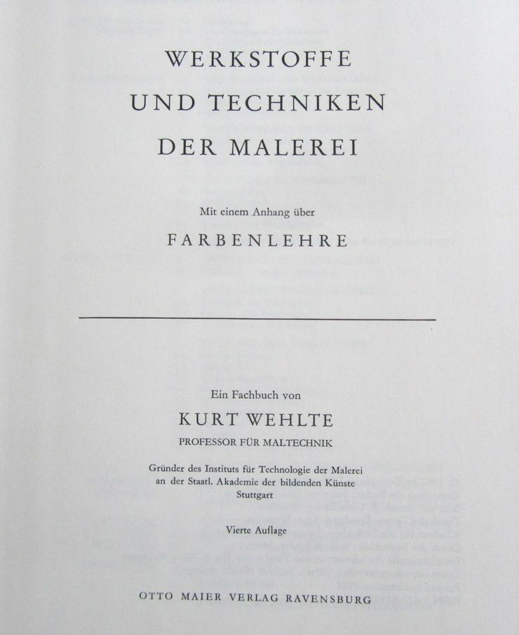 Werkstoffe und Techniken der Malerei - Kultur & Kunst - Bild 2