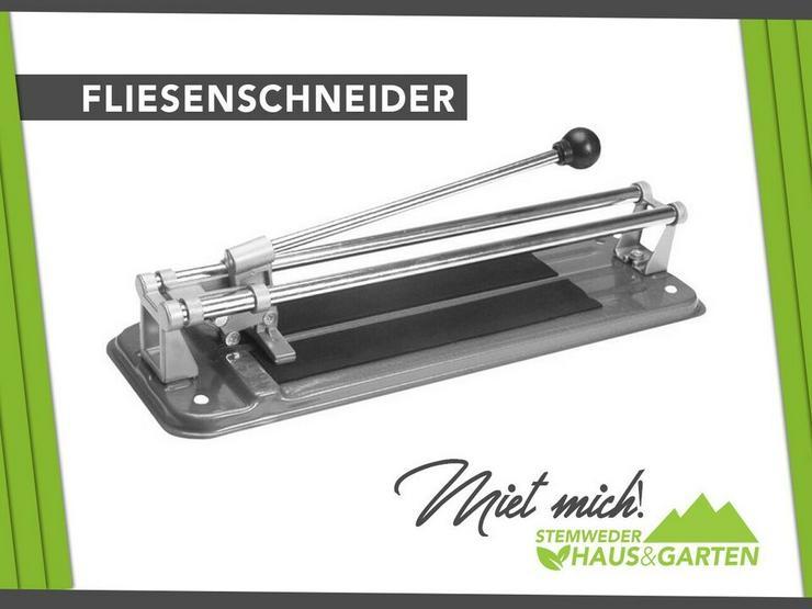 Mieten / Leihen: Fliesenschneider Manuell