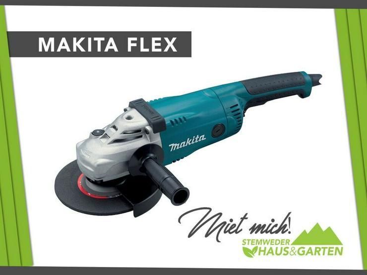 Mieten Leihen Flex Makita 230