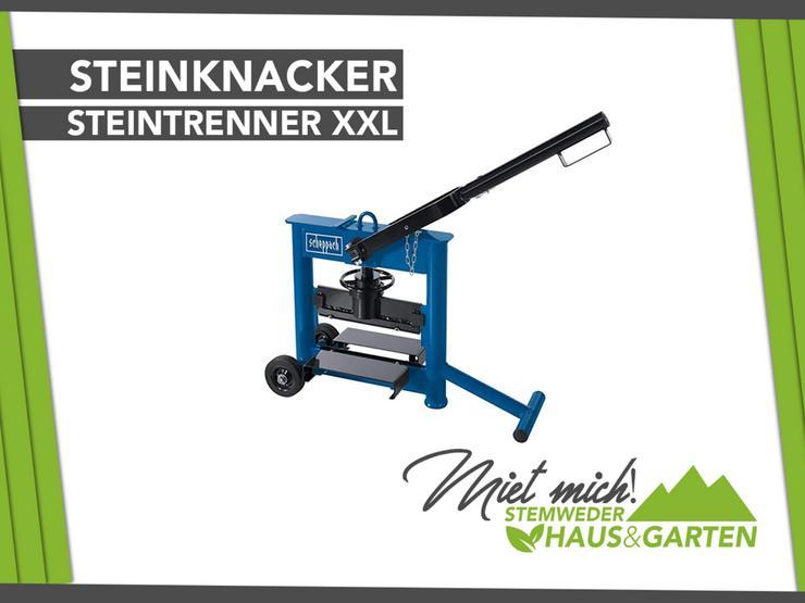 Mieten Leihen Profi Steinknacker Steintrenner XXL