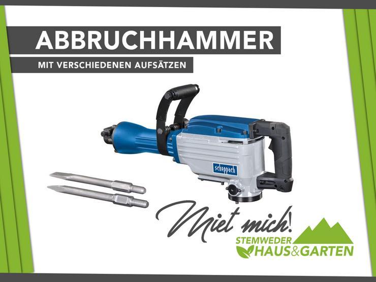 Mieten Leihen Abbruchhammer Scheppach XL Profi AB1900