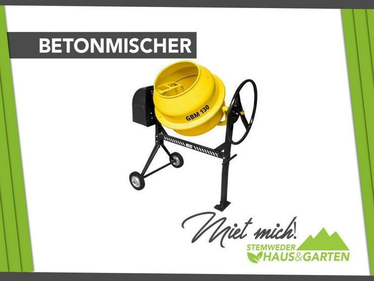 Mieten Leihen Betonmischer Mischer Güde - Geräte & Werkzeug - Bild 1