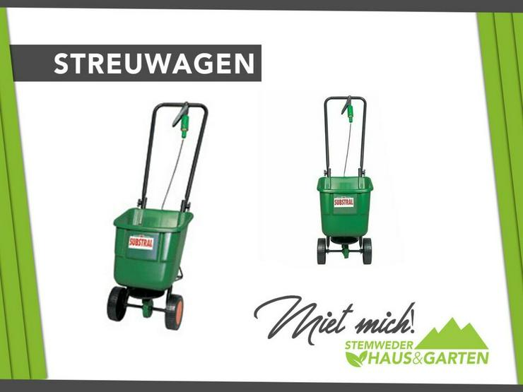 Mieten Leihen Streuwagen für Saat - Substral