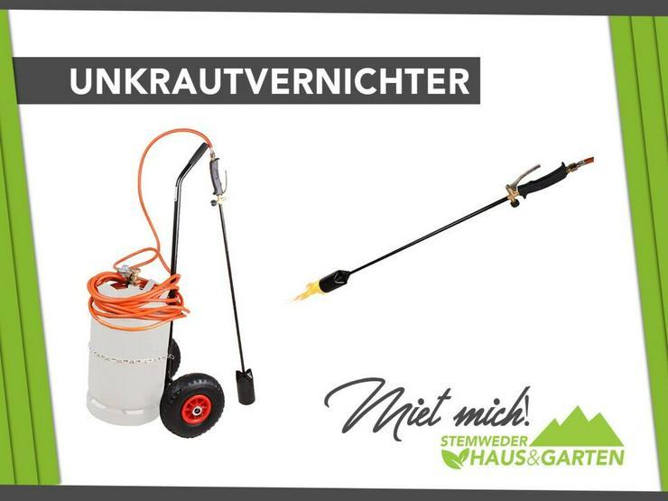 Mieten / Leihen: Unkrautbrenner Gas