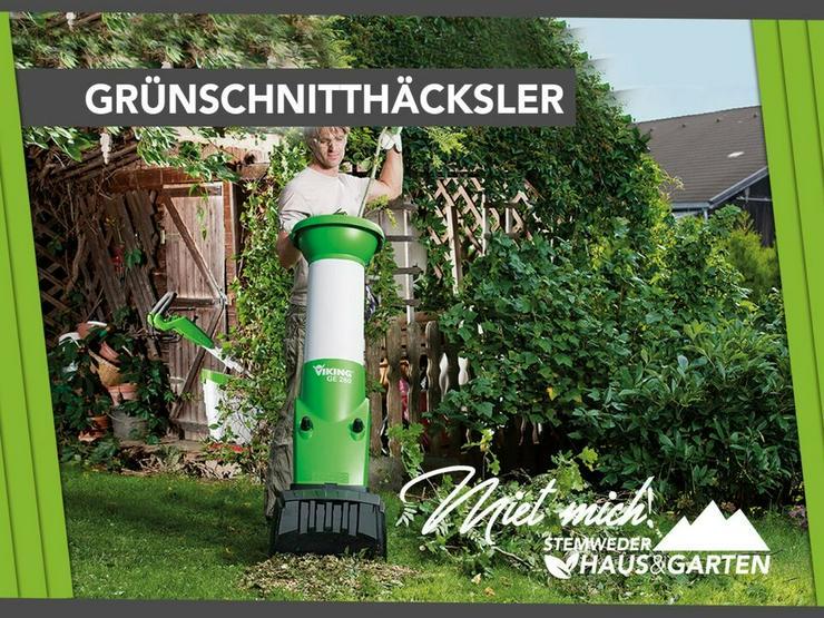 Mieten Leihen Gartenhäcksler Häcksler Viking - Geräte & Werkzeug - Bild 1