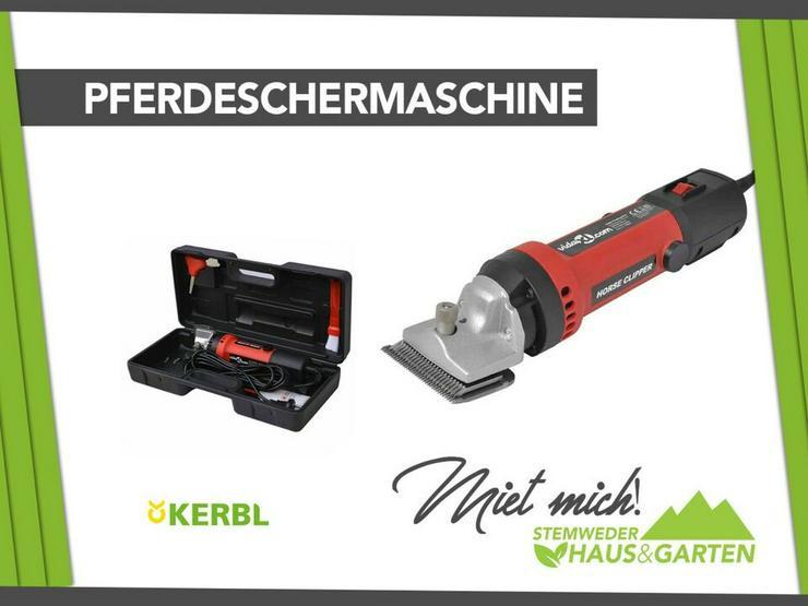 Mieten / Leihen: Pferdeschermaschine / Schermaschine Kerbl