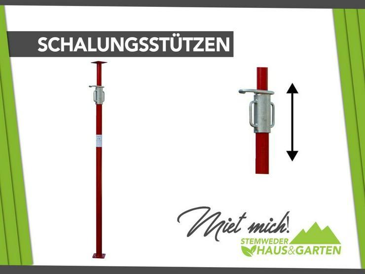 Mieten / Leihen: Baustützen / Schalungsstützen