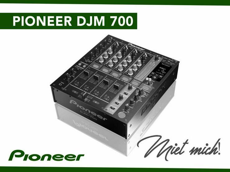Pioneer DJM 700 Mixer mieten