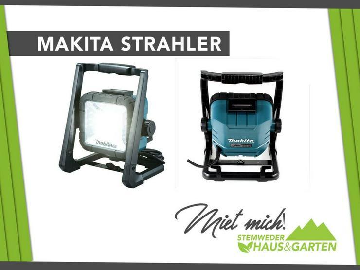 Mieten / Leihen: Baustrahler Makita