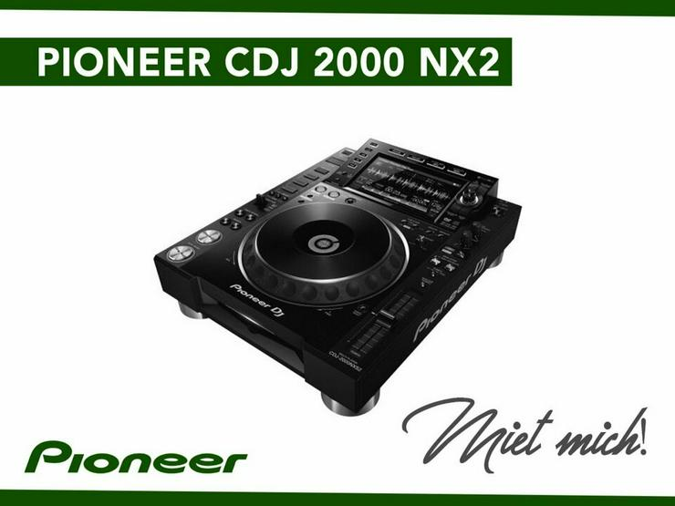 Pioneer Dj CDJ 2000 NXS2 mieten