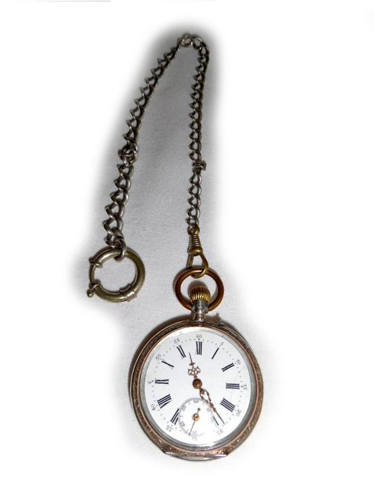 Schöne Taschenuhr aus 800er Silber