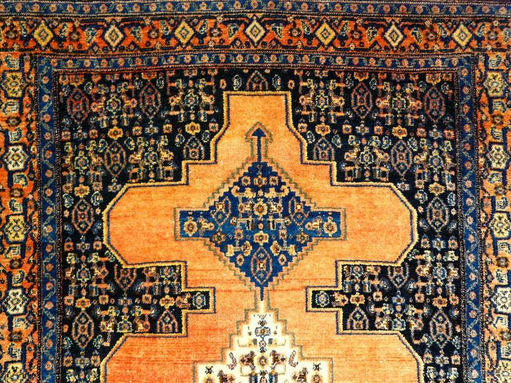 Bild 3: Orient-Teppich Senneh antik 156x119 (T071)