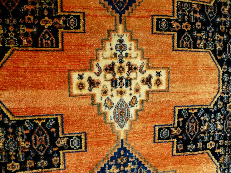 Bild 2: Orient-Teppich Senneh antik 156x119 (T071)