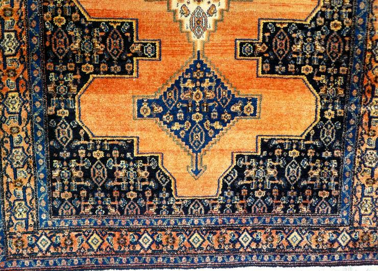 Bild 4: Orient-Teppich Senneh antik 156x119 (T071)