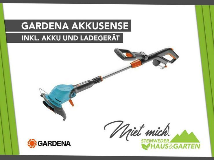 Mieten / Leihen: Sense / Akkusense / Rasentrimmer Gardena