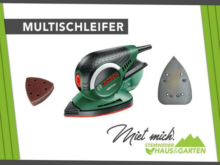 Mieten / Leihen: Multischleifer / Winkelschleifer Bosch - Geräte & Werkzeug - Bild 1