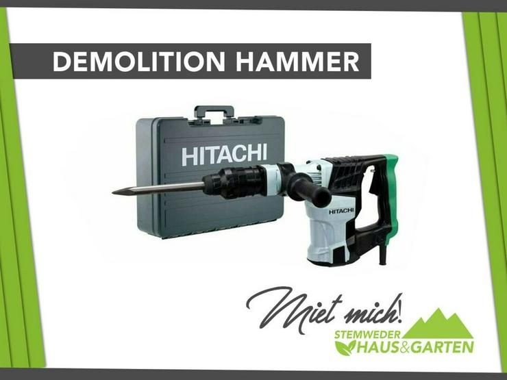 Mieten / Leihen: Abbruchhammer / Meißelhammer Hitachi