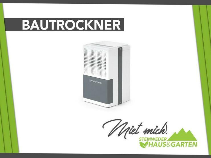 Mieten / Leihen: Bautrockner / Zimmertrockner / Luftentfeuchter - Geräte & Werkzeug - Bild 1