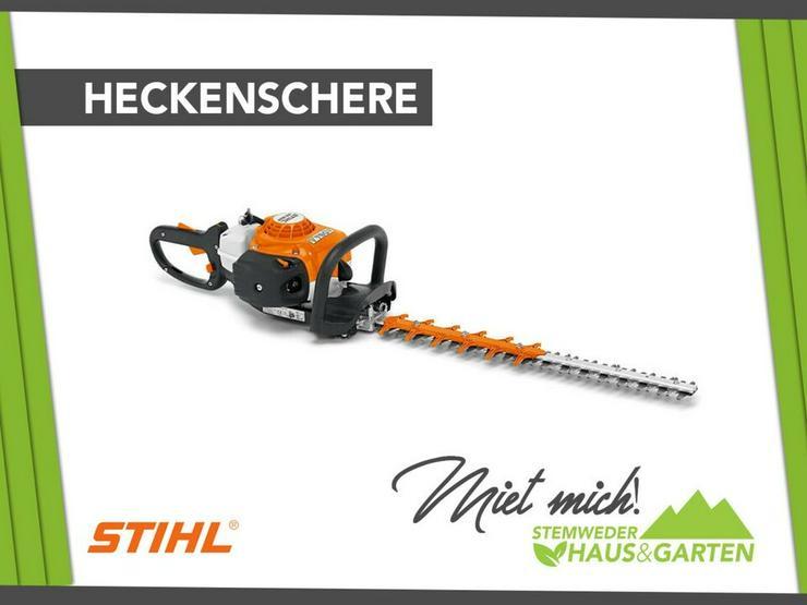 Mieten / Leihen: Heckenschere Stihl
