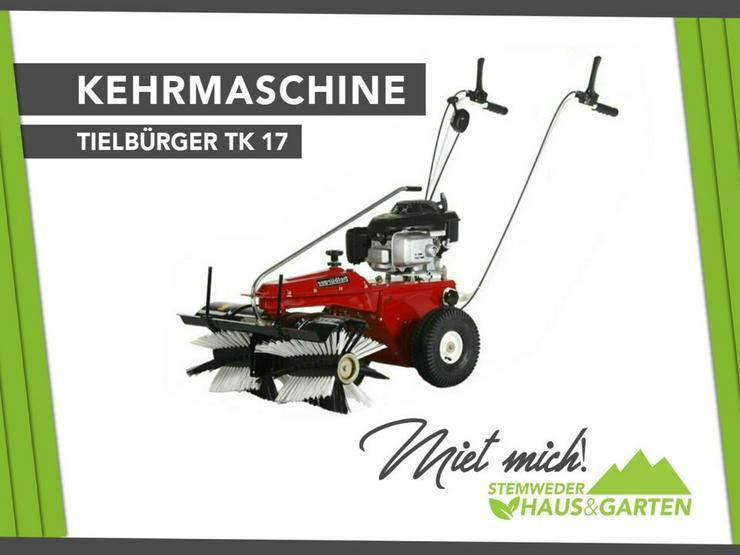 Tielbürger tk17 Kehrmaschine mieten / miete - Geräte & Werkzeug - Bild 1