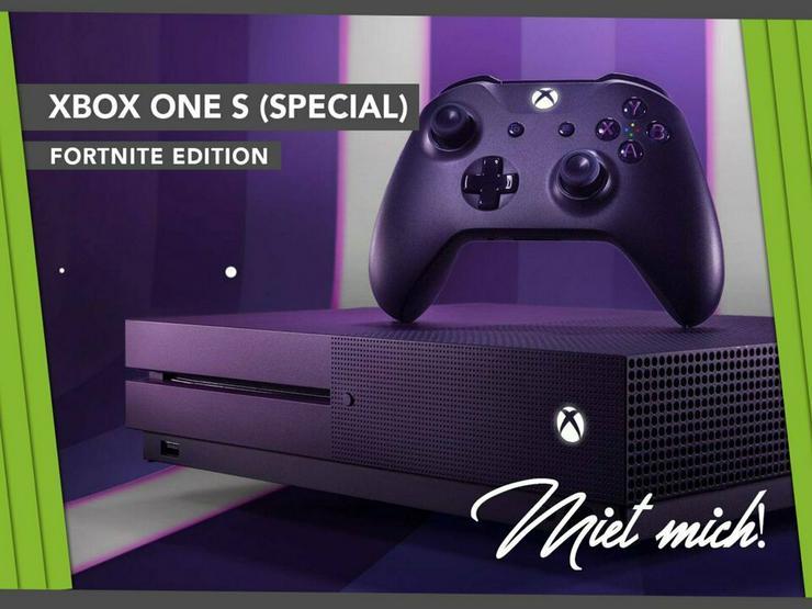 Xbox One S mieten / miete / leihen - Computer & Notebook - Bild 1