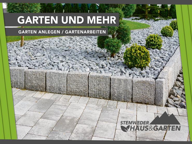 Gartenbau, Gartenlandschaftsbau, Neubau, Garten anlegen