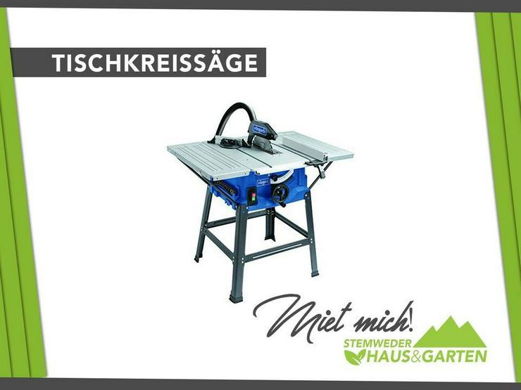 Standkreissäge / Kreissäge / Tischkreissäge Mieten / Leihen