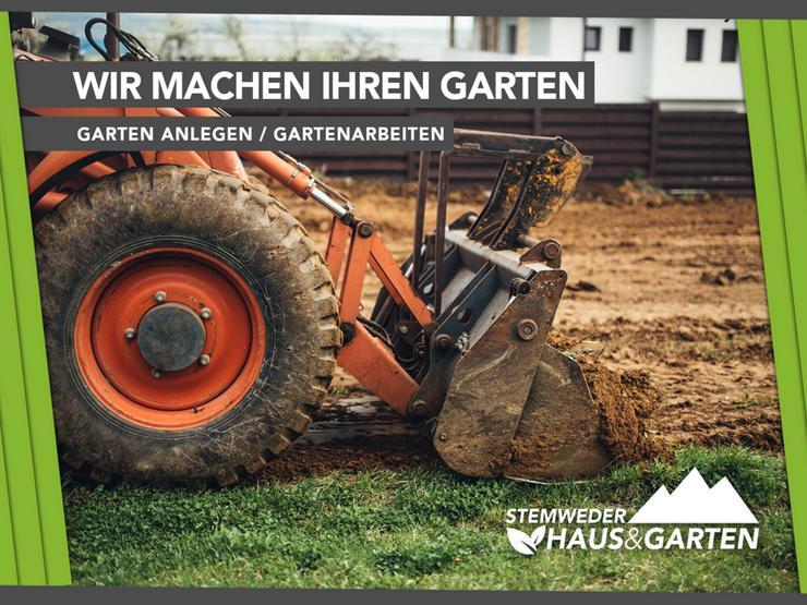 Gartenbau, Gärtner, Garten anlegen, Gartenarbeiten
