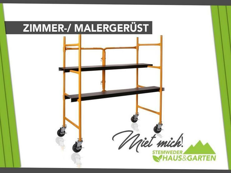 Vermiete Zimmergerüst, Malergerüst - Mieten / Leihen - Geräte & Werkzeug - Bild 1