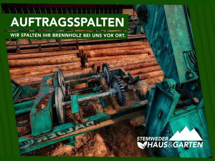 Lohnspalten Auftragsspalten Holzspalten Spalten