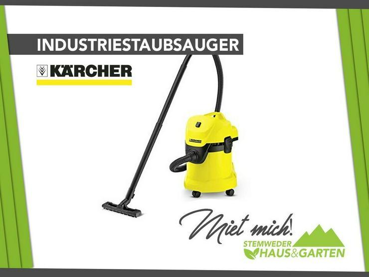 Vermiete Kärcher Industriestaubsauger - Mieten / Leihen