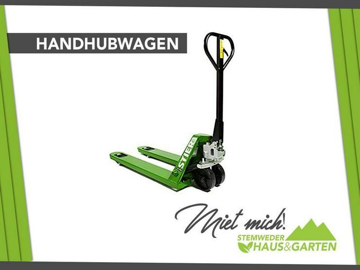 Vermiete Hubwagen Mieten / Leihen