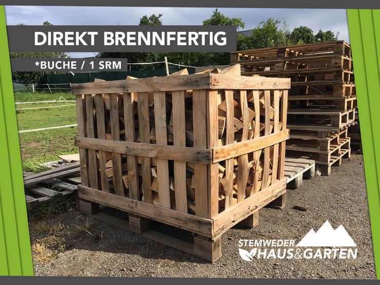 ANGEBOT: Kaminholz / Brennholz - 1SRM Buche Holz - Lieferservice