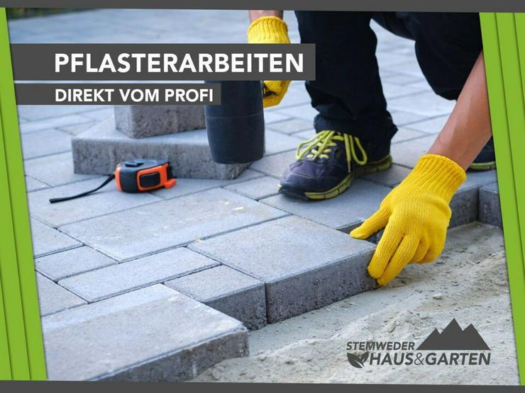 Pflasterarbeiten / Pflastern - Direkt vom Profi & Preiswert!