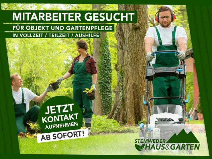 Mitarbeiter in Vollzeit gesucht - Garten Helfer - Job