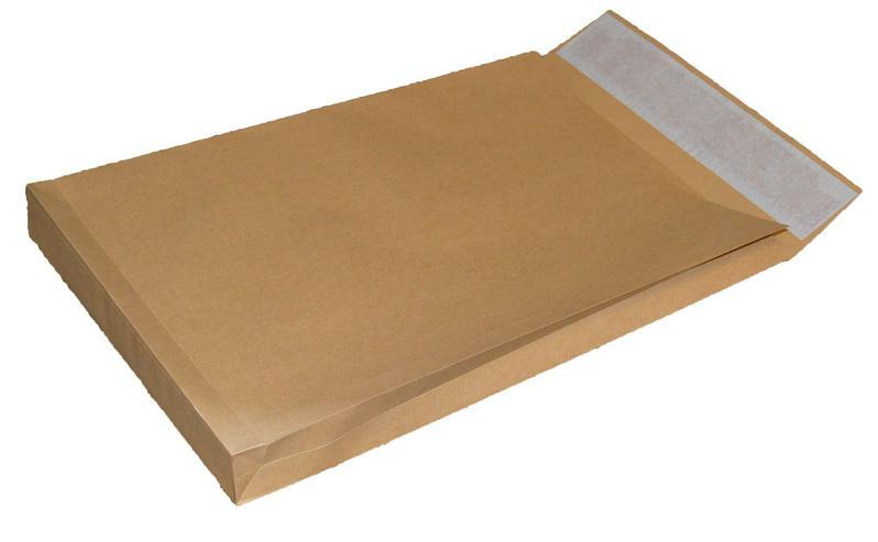 250 Stück Versandbeutel E4 mit Seitenfalten 27081102