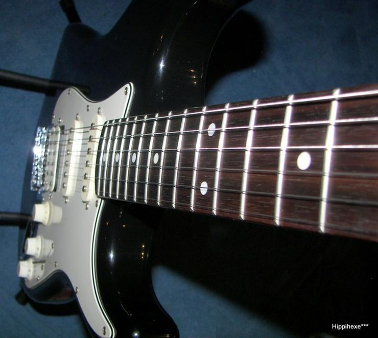 Bild 5: Verkaufe E-Gitarre von Stagg S402 * Stratocaster* in schwarz