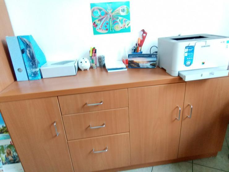 Anrichte mit Schubladen braun 1,93 mx .0,80 m - Schreibtische & Computertische - Bild 1